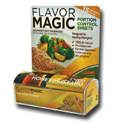 Flavor Magic Portion Control Sheets help you to control portion sizes and encourage a healthier diet.