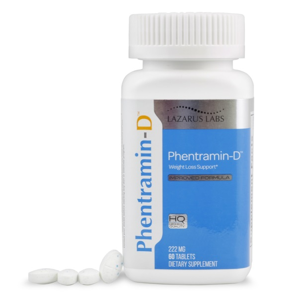 Get Rid of Stubborn Fat at Last with Phentramin-D