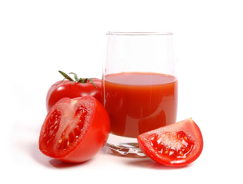 Tomato Juice in Top Dieting Foods